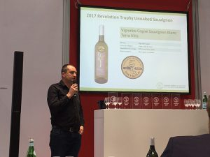 Intervention de Yan à prowein